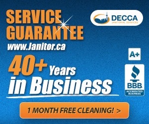 40 Years of Janitorial Services